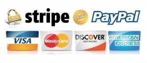 Stripe and Paypal Logos